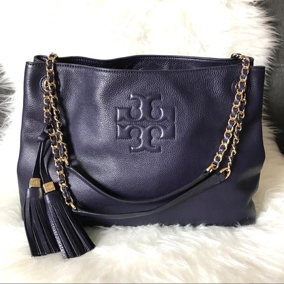 c73a8207d1c0 🥳SALE🥳 Tory Burch Thea Leather Chain Strap Bag. M 5bec64fe1b32947b94b2157a